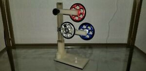 SET OF 3 ROD BUILDING BALL BEARING SUPPORTS WRAPPING RED WHITE BLUE PATRIOTIC