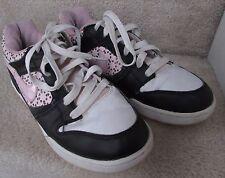 Nike Air Twilight Women Black Pink Athletic Shoes Sneakers 325255-061 Sz 1 0