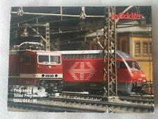 Catalogue MARKLIN Programme général 1993/94.