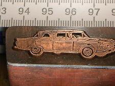 BORGWARD HANSA  2400 PULLMANN   schöner Oldtimer Stempel / Siegel aus Metall