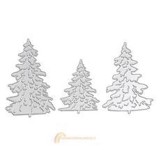 3pcs Christmas Tree Metal Die cutting Dies for DIY Scrapbooking R1BO