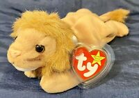 TY Beanie Baby Roary the Lion *MWNMT*