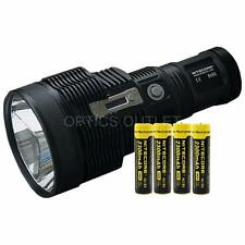 Bundle: Nitecore TM38 Lite 1800 Lumen Flashlight with 4x 2300mAh 18650 Batteries