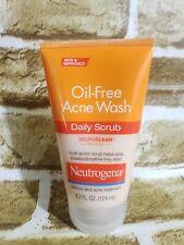 Neutrogena Oil-Free Acne Wash Daily Scrub Salicylic Acid 4.2 oz