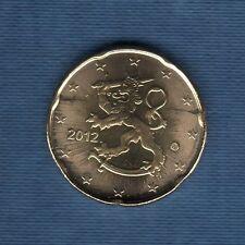 Finlande - 2012 - 20 centimes d'euro - Pièce neuve de rouleau -