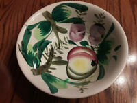 MCM Ironstone Hand painted Serving Bowl made in Japan Lovely