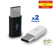 Adaptador de micro USB a USB 3.1 tipo C   --   Carga  Datos Samsung Xiaomi