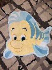 Disney Little Mermaid Flounder Bath Mat / Rug