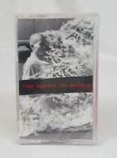"RAGE AGAINST THE MACHINE ""Bullet in the Head"" CS Tape Sealed Promo Epic 1992"