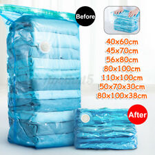 Self Portable Vacuum Clothes Seal Bags Press Travel Space Saver Compression Bags