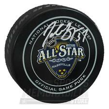 Patrice Bergeron Boston Bruins Signed Autographed 2016 NHL All-Star Game Puck