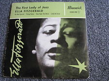 Ella Fitzgerald-The First Lady of Jazz-4 Track 7 PS-Germany-Jazz