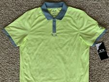 Oakley Golf Men's Tailored Fit Polo Shirt - Size Large - New!