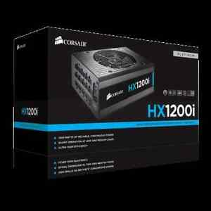 Corsair HX-1200i 1200W 80+ Platinum Certified ATX PSU