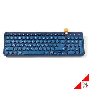 Kakao Friends Ryan Wireless Bluetooth Keyboard Blue OFFICIAL - English/Korean