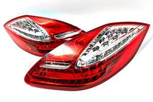 PORSCHE Panamera 2009-2012 LED Tail Lights Rear Lamps PAIR OEM