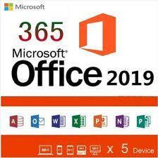 Instant MS Office 365 Pro Plus 2016/2019  MAC & Windows Mobile