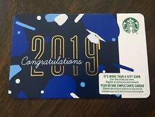 "Canada Series Starbucks ""CONGRATULATIONS 2019"" - Recyclable Card - New No Value"