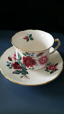 Antique Bone China Footed Tea Cup & Saucer Queen Anne  by Ridgway Potters