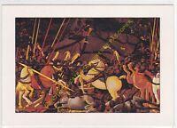 CP POSTCARD TABLEAU ART Paolo di Dono UCCELLO Bataille de San Romano