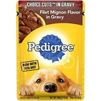 PEDIGREE CHOICE CUTS in Gravy Adult Wet Dog Food Filet Mignon Flavor, (16) 3.5