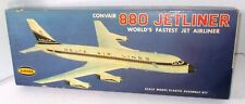 AURORA 1960 CONVAIR 880 DELTA JETLINER AIRPLANE MODEL BOX vintage empty carton