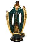 Erte Bronze Sculpture, Femme De Luxe, 1990