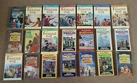 21 Books: Complete Set of The Famous Five Enid Blyton - FULL SET Adventure Books