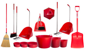 RED MATCHY PROFESSIONAL RED GORILLA TUBTRUG FEED EQUIPMENT FARM HORSE STABLE
