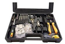 Hobbes 85 piezas Kit de herramientas de reparación de computadoras y de la red