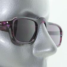 Reading Glasses Low Rise Half Eye +2.00 Sunglasses Tinted Lens Purple Frame