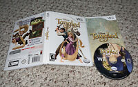 Disney's Tangled (Nintendo Wii) Complete Game Tested