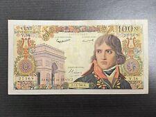 très beau billet 100 Nouveau Francs  Bonaparte du 07-04-1960 état TTB/TTB+