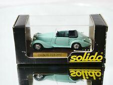 Solido n° 4003 Talbot T23 1937 1/43 jamais sortie en boite