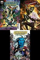 Guardians Of The Galaxy #8 3 Variant Lot (Marvel 2019) BOBG Leee 80th Frame