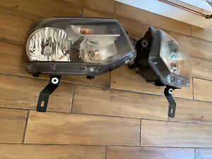 VW T5 Facelift Headlight Mounts Conversion to T5.1 Headlights