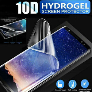 Hot! 10D Soft Hydrogel Clear Screen Protector Film For Samsung Galaxy S7 S8 S9
