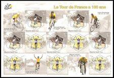 2003 FRANCE BLOC N° 59** BF Le Tour de France a 100 ans, Cyclisme Vélo 3582/3583