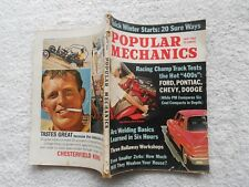 POPULAR MECHANICS Magazine-JANUARY,1964-FORD,PONTIAC,CHEVY,DODGE