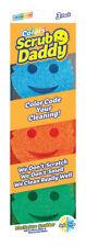 NEW! SCRUB DADDY Polymer Foam Scratch Free Sponge 3-Pack  SDC3PK