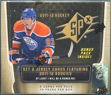 2011-12 Upper Deck SPX Hockey Factory Sealed 14 Box Hobby Case