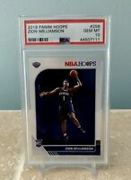 ZION WILLIAMSON 2019-20 Hoops PSA 10 RC Rookie card #258 Mint Authenticated