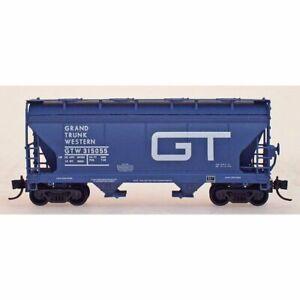 InterMountain 66532-10 - ACF 2 Bay Covered Hopper  Grand Trunk Western (GTW) ...