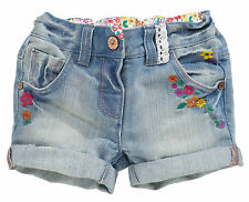 NEXT Denim Trousers & Shorts (0-24 Months) for Girls