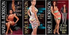 If I Can't Have You Series Collection Set Books 1-3 Mass Market Paperback NEW!