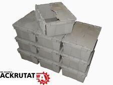FP143 Orbis 10 x Stapelbehälter Behälter Deckelbox Kunststoffkiste Stapelbox