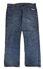 Levi's 501XX Men's Blue Button Fly Straight Leg Denim Jeans Size 42 X 32