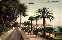 San Remo Sanremo Italien Italia Ligurien AK 1912 Viale dell Imperatrice Straße