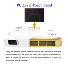 5500LED Lumens UHD 4K Android4.4 DLP Home Theater Projector HDMI 1080P Battery