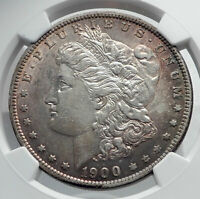 1900 UNITED STATES of America SILVER Morgan US Dollar Coin EAGLE NGC i80031